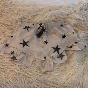 Surf Gypsy Sequin Star Shorts